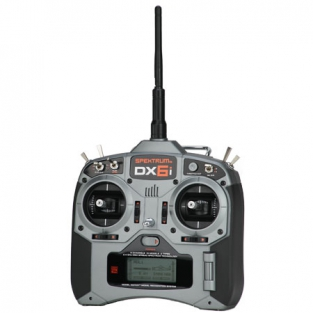Spektrum DX6i 6-Channel Full Range w/o Servos Mode 2