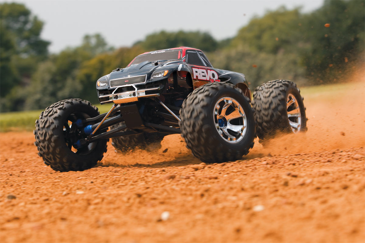Traxxas Revo 3 3 Racing Devil Hobbies